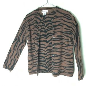 Mendocino, Angora Women's Sweater Set Size L